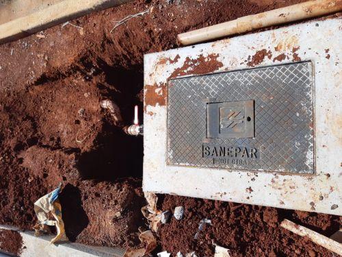 Sanepar liga água definitivamente ao Hospital Regional de Ivaiporã