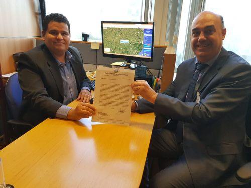 Miguel Amaral entrega solicitações de mais praças temáticas no Ministério do Turismo