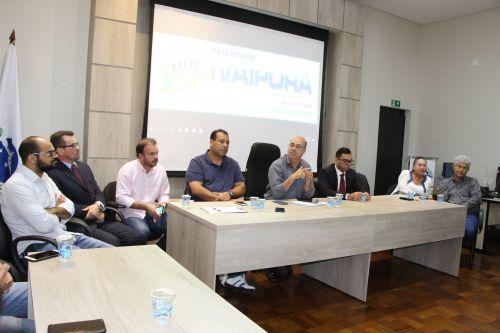 Prefeito Miguel Amaral lembra que segurança pública é dever do Estado