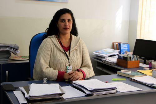 Joice Santos é gerente da Agência do Trabalhador de Ivaiporã
