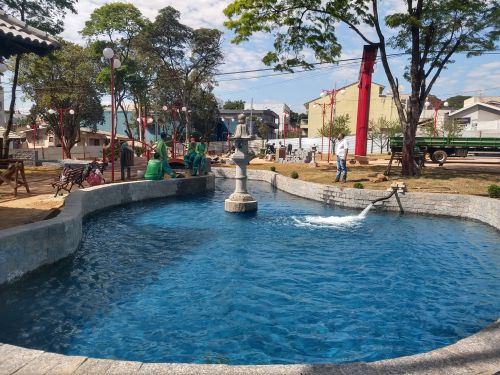 Prefeitura de Ivaiporã irá inaugurar Praça Japão com apresentações culturais, barracas típicas e espaço destinado às crianças