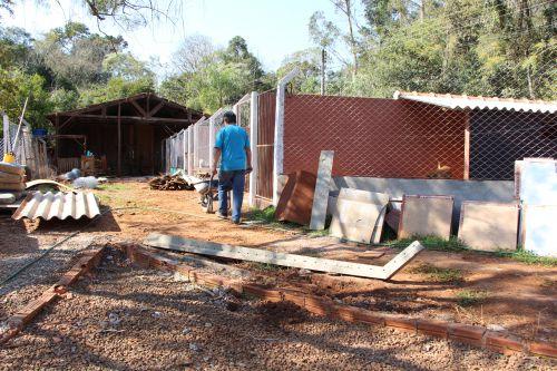 Após a obra, Abrigo de Animais Toca de Assis poderá receber visita de pessoas interessadas em adotar