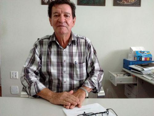 Adir Salla, diretor do Departamento Municipal de Agricultura