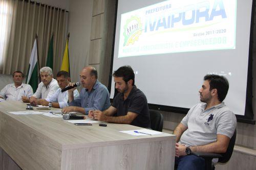 Miguel Amaral comenta ruas que serão pavimentadas nos próximos meses