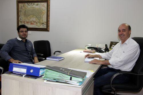 Maicol Barbosa e Miguel Amaral debatem também desenvolvimento empresarial na região