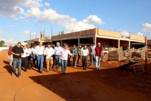 Membros do Plano Diretor visitam obras da Prefeitura de Ivaiporã