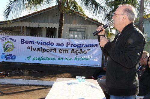 Prefeito Miguel Amaral parabenizou os servidores públicos pelo empenho e trabalho desenvolvido
