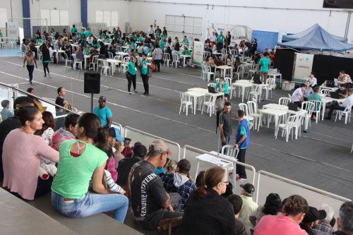 Poder Judiciário, Sesc Cidadão e Prefeitura de Ivaiporã atendem 10 mil pessoas no Justiça no Bairro