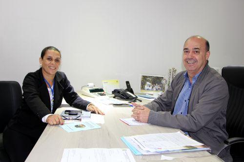 Rose Sirço e Miguel Amaral conversam sobre I Seminário Intermunicipal de Educação