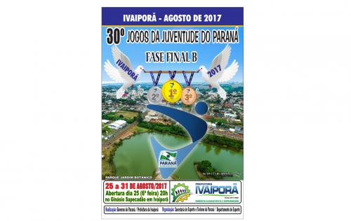 30º Jogos da Juventude do Paraná - Fase Final B - 2017
