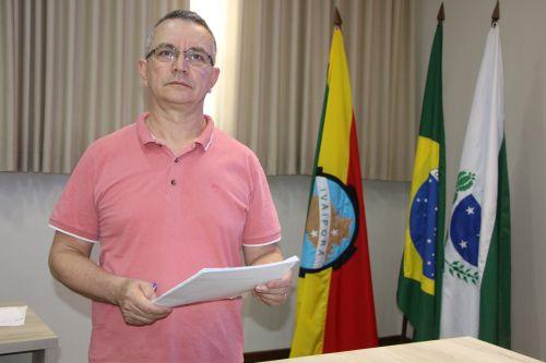 Diretor do Departamento Municipal de Saúde, Claudeney Martins