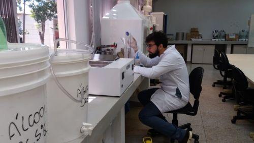 IFPR usa Laboratórios de Química e Agroecologia/Agronomia