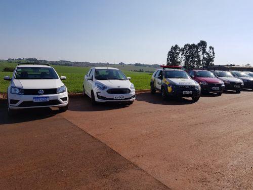Prefeitura de Ivaiporã realiza carreata com 31 novos veículos adquiridos na atual gestão