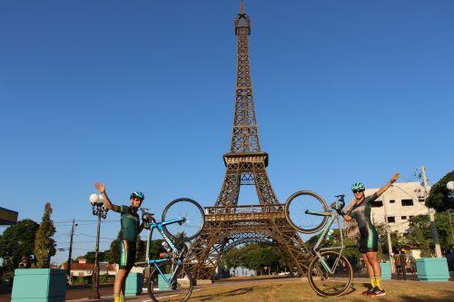 O casal de ciclistas Alessander Sanches e Silvia Nardi irá representar o município de Ivaiporã no Pan-Americano Máster de Estrada e Pista