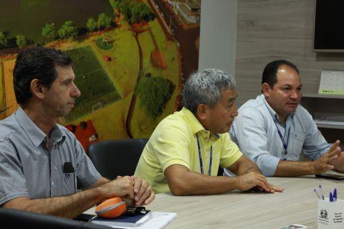 Gladiston Varasquim, Rafael Nagayama e Luiz Carlos Jacovassi