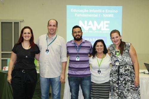 Equipe do Grupo Pearson explica Sistema de Ensino Name na AABB