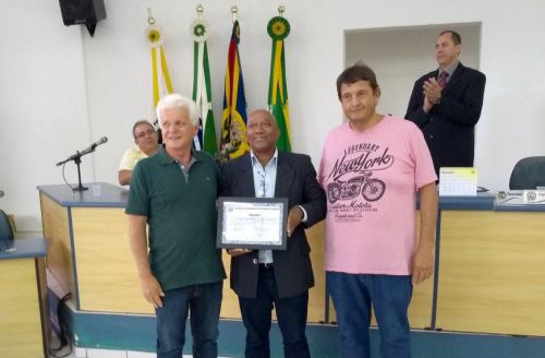 Entre os homenageados o maestro da Banda Marcial Municipal de Ivaiporã, Josuel Roberto