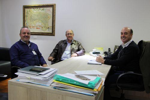 Fernando Mauro Soster, Domingos Fontana e Miguel Amaral