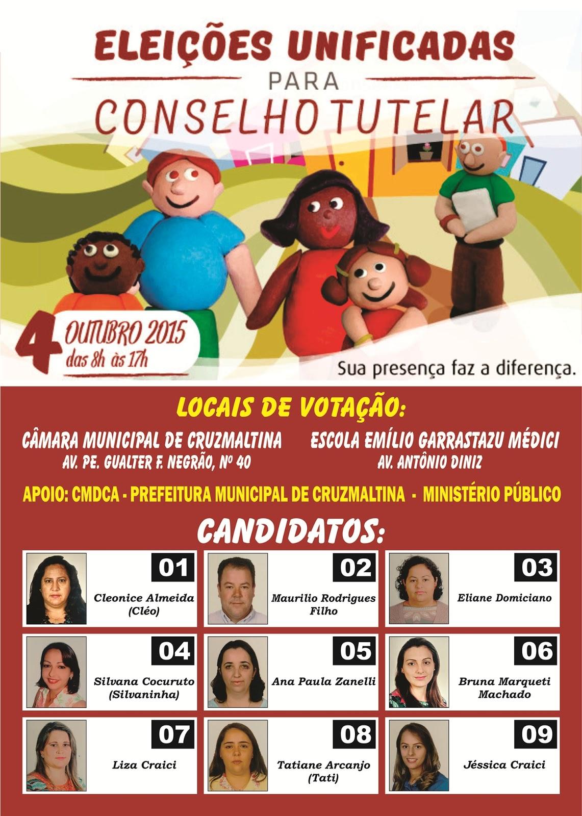 Cruzmaltina também realiza eleiç&ot
