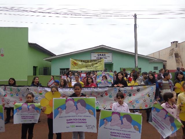 Trabalho realizado no CRAS com os grupos do Serviço de Convivência e Fortalecimento de Vínculos e com os grupos do PAIF
