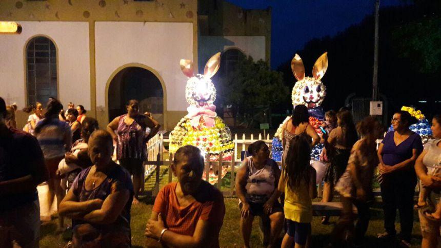 PÁSCOA: Chegada dos coelhos.