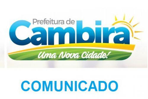 COMUNICADO SOBRE AS CONCORRÊNCIAS PÚBLICAS (BOCHA E LANCHONETE/BAR DO CAMPO)