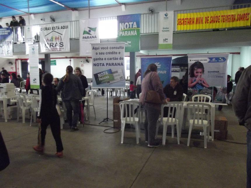 Paraná Cidadão em Teixeira Soares atende mais de 3.500 pessoas