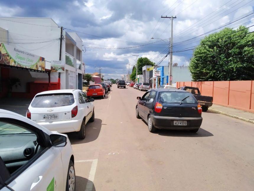 Visão da rua monitorada
