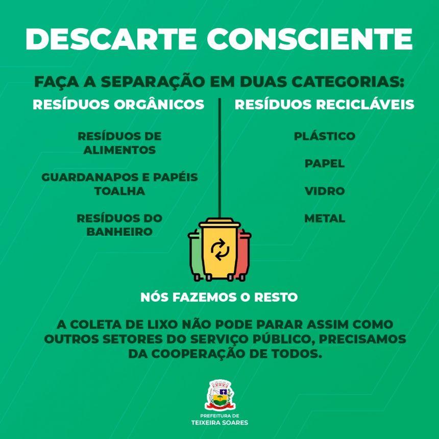 Ajude na Separação do Seu Lixo