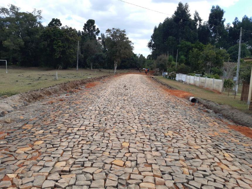 Obras Retomadas no Ribeirão