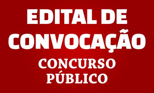 CONCURSO PÚBLICO Nº 01/2019  Edital n.º 09/2019