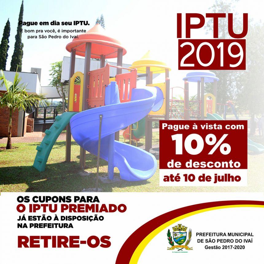 IPTU com 10% de desconto pode ser pago até dia 10 de julho