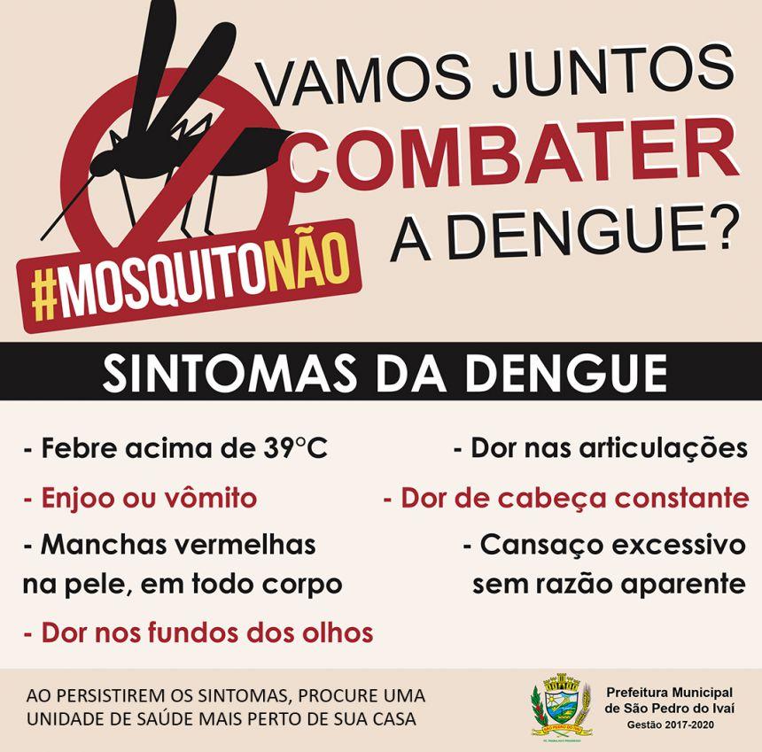 Com conscientização, Governo Municipal controla notificações de dengue no município