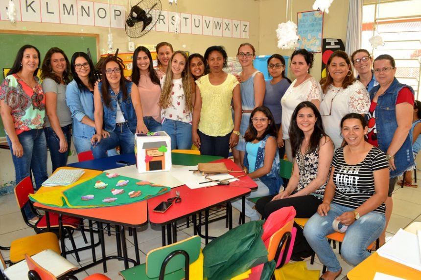 Governo municipal aplica Formação Continuada para professores da educação infantil