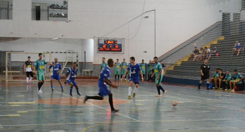 Times mostram equilíbrio na abertura da Copa Segundona de Futsal