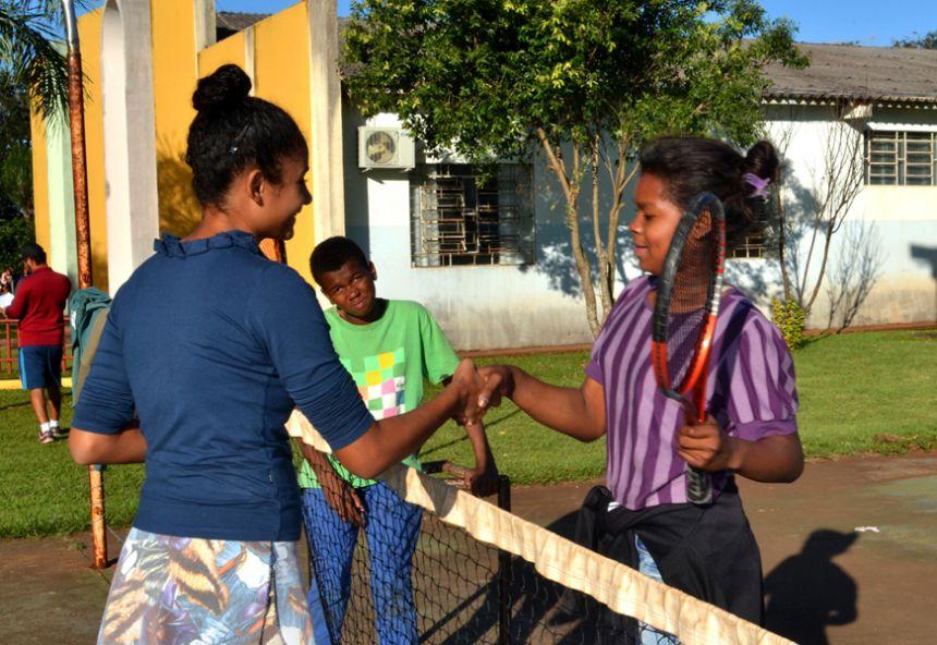 Em parceria com Governo Municipal, CAIS-SCFV promove 1ª etapa de campeonato de tênis
