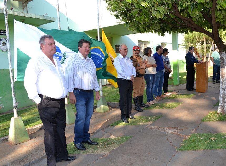 Ato Cívico marca Dia da Independência em São Pedro do Ivaí