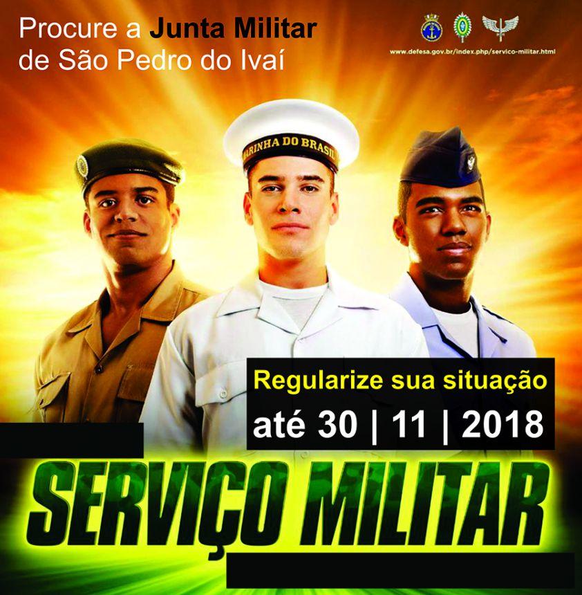 Junta Militar pede o comparecimento dos jovens alistados em 2018 para regularização