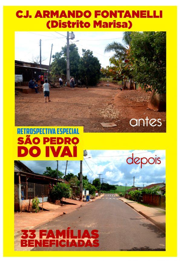 Dezenas de famílias realizam sonho com chegada de asfalto no bairro