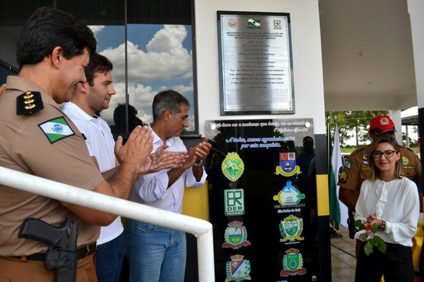 Prefeito José Isalberti acompanha inauguração do novo Posto da PRE