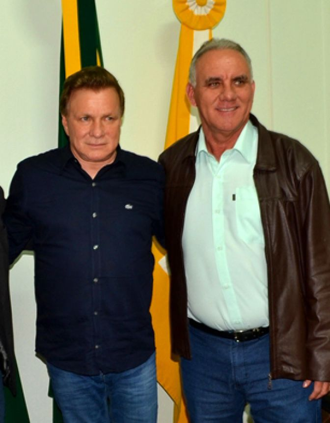 Prefeito José Isalberti e deputado estadual Mauro Moraes, uma aliança bem construída.