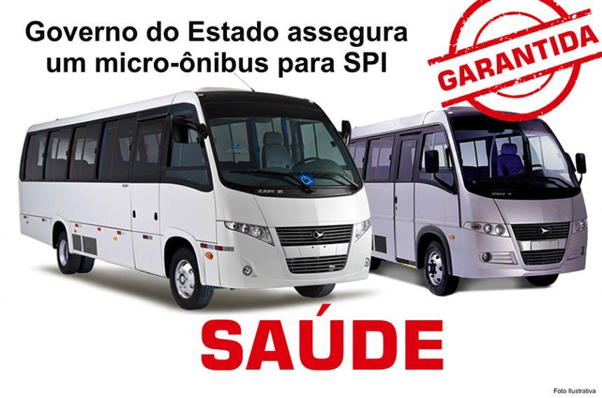 Governo municipal de São Pedro do Ivaí garante novo micro-ônibus para saúde