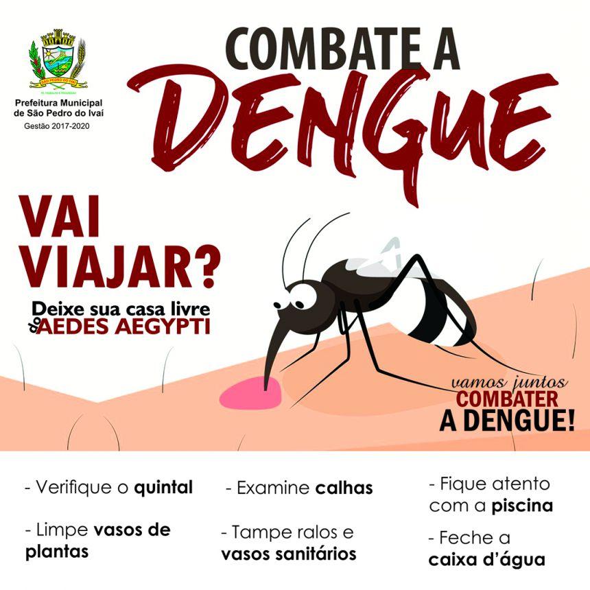 Nas férias, São Pedro do Ivaí intensifica cuidados contra o mosquito da dengue