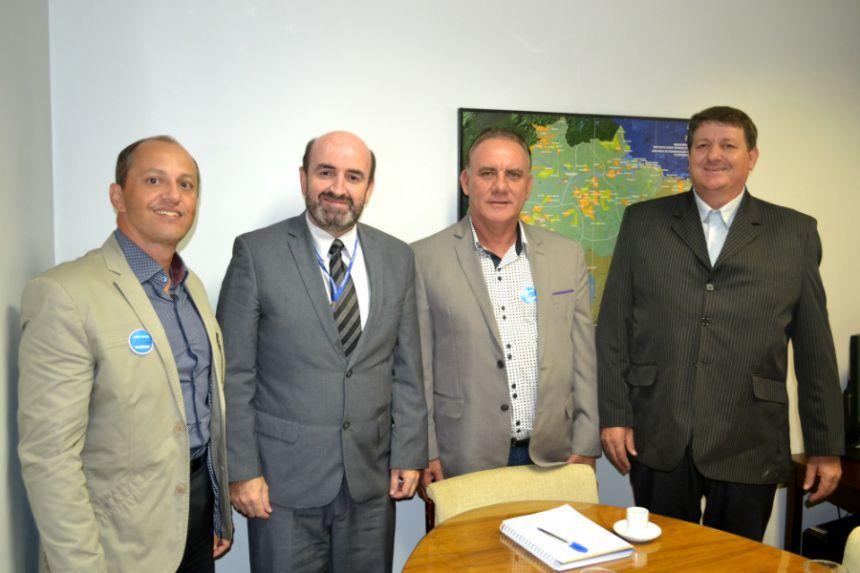 Zé Isalberti e Zé da Horta ficam otimistas com reuniões com deputados em Brasília