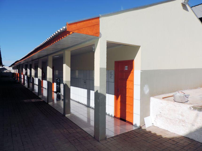 A Escola Municipal Gertrudes Maria Domingues foi a
