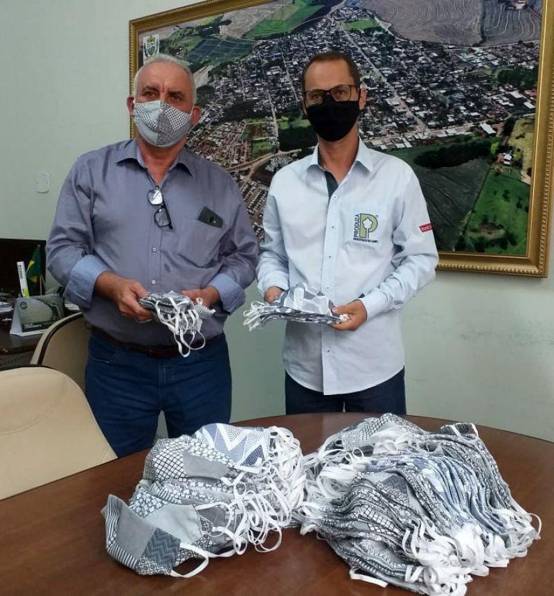 CONSEG doa 1.700 máscaras à Prefeitura de São Pedro do Ivaí