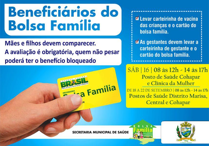 Beneficiários do Bolsa Família devem fazer pesagem e medição em São Pedro do Ivaí