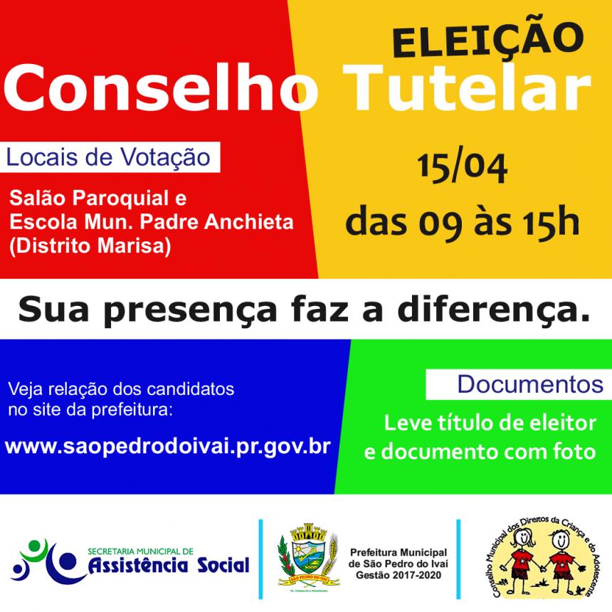 Prefeito José Isalberti reforça a importância da participar da eleição do Conselho Tutelar
