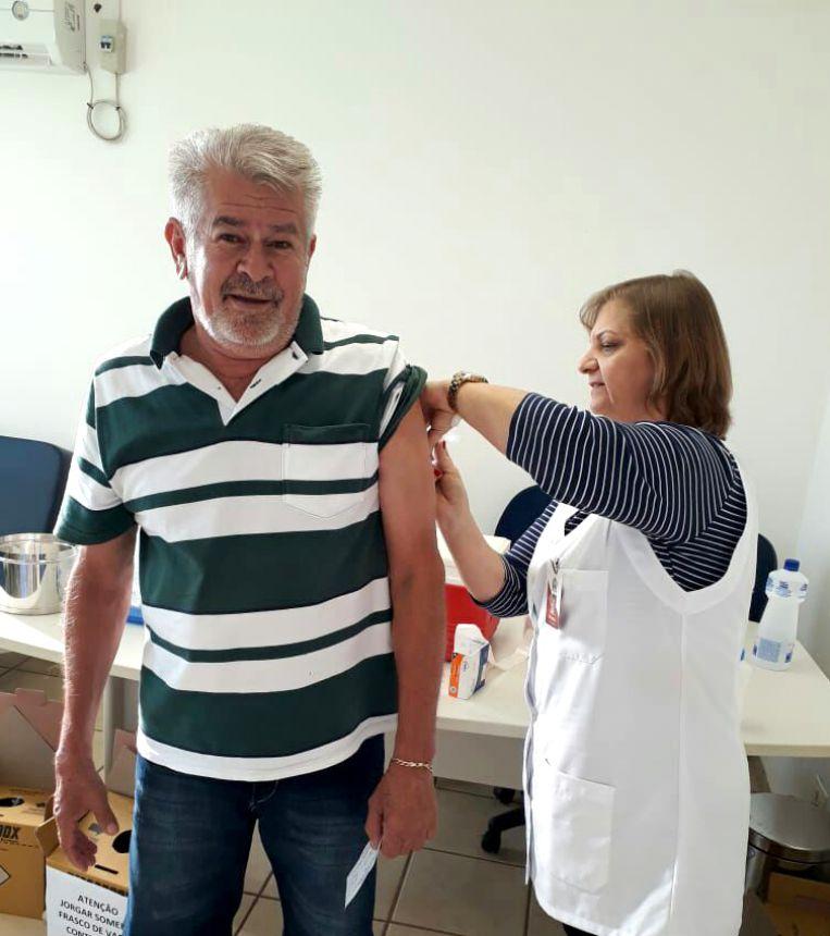 Governo Municipal pede aos pais que levem filhos de até 5 anos para tomar vacina
