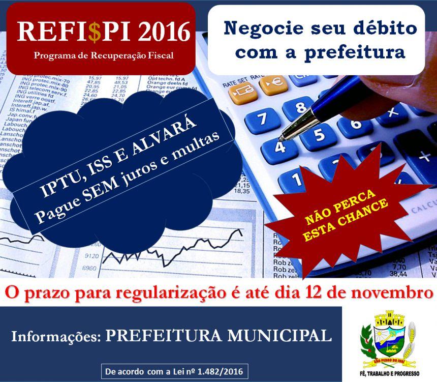 Prefeitura abre prazo para negociar débitos municipais